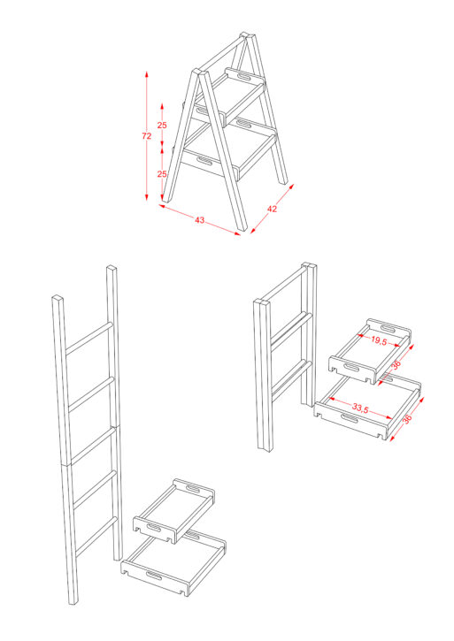 Ladder Shelf scaled