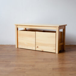 Furniture - Kursi - Bench 2 Drawer