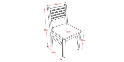 5 Stripe Chair Sketch