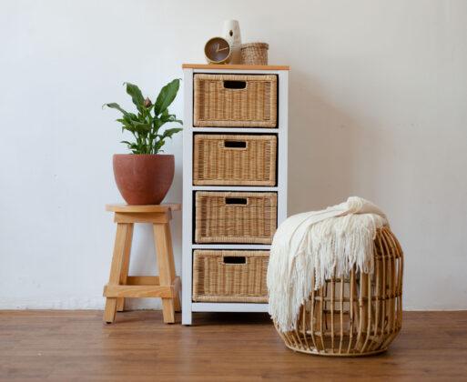 Furniture - Rak - Chest 4 Drawer NW