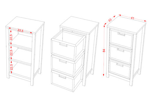 Chest 3 Drawer scaled