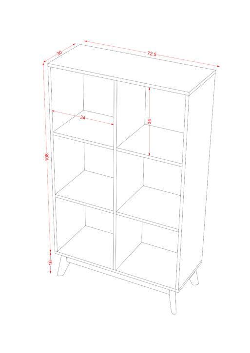 Book Case 3x2 1 scaled
