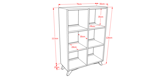 Drawer Solid 2x3 Sketsa