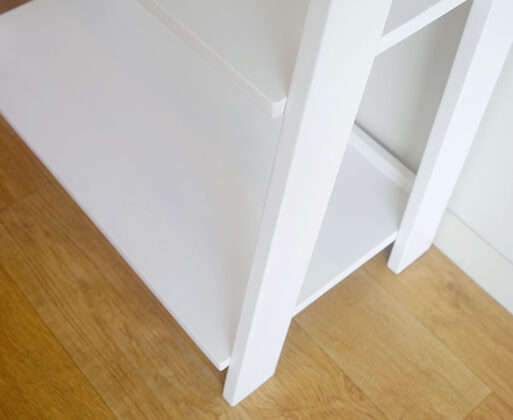 Furniture - Rak - Book Case 5 Tingkat White
