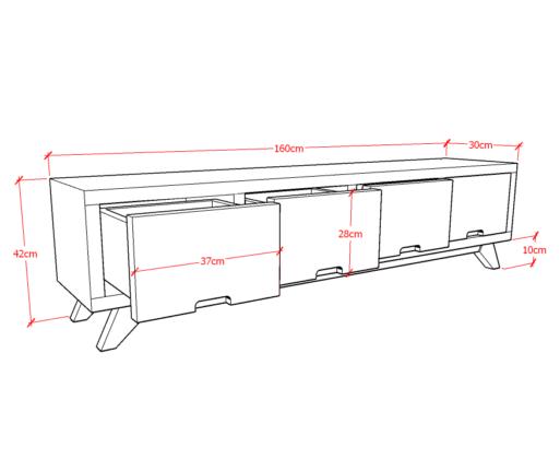 Alana TV Table 4 Laci Sketch