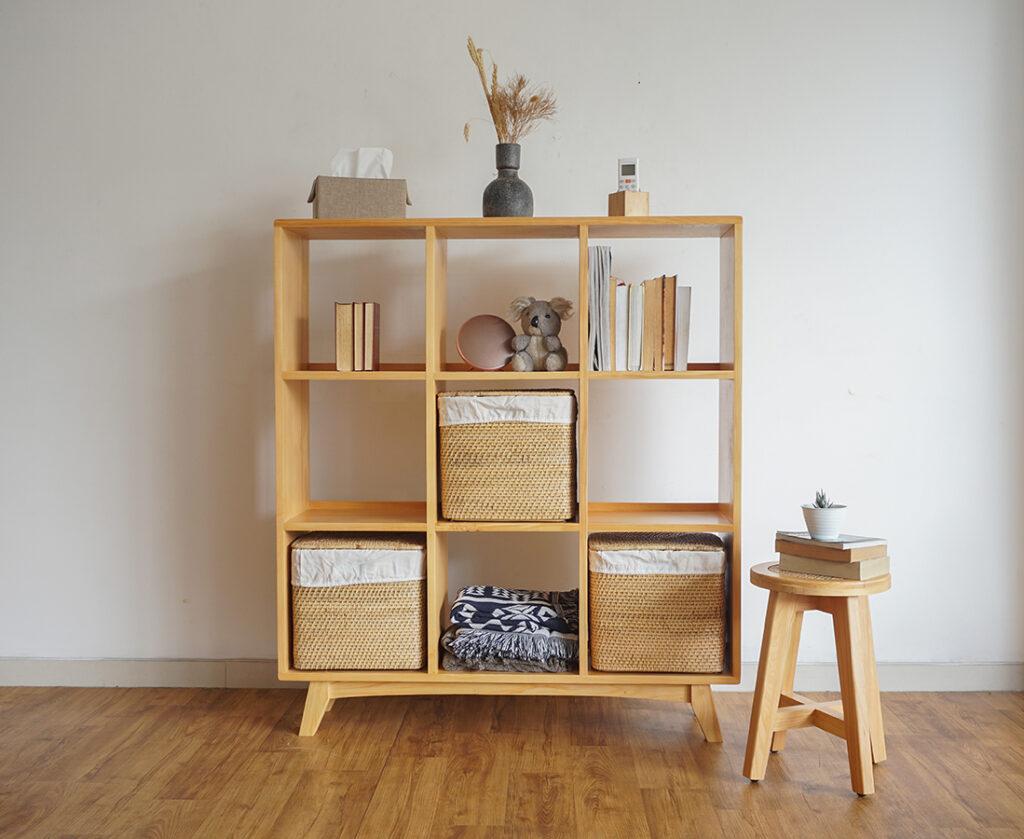 Furniture Minimalis Rak Belajar Pada Kamar Anak