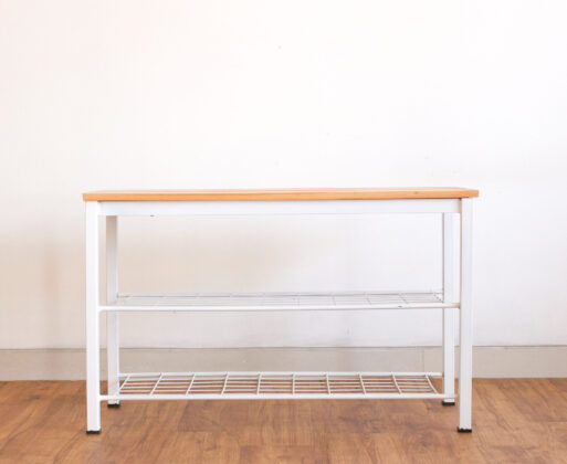 Furniture - Bench - Bench Industrial White
