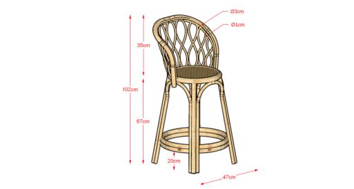 Akar High Chair Warna