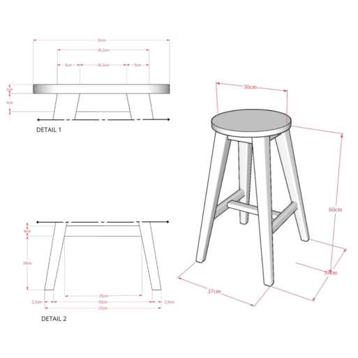 High Stool UWITAN