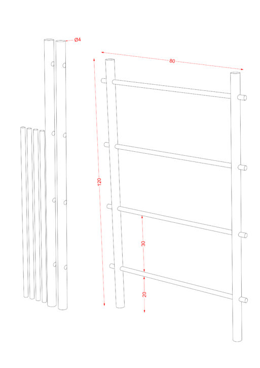Ladder Hanger S scaled
