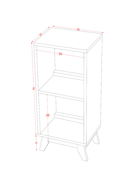 1x2 Drawer Solid scaled