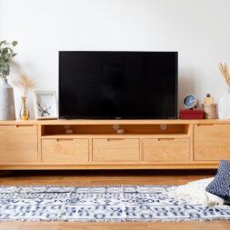 Furniture - Meja TV - Alana TV Table 5 Laci