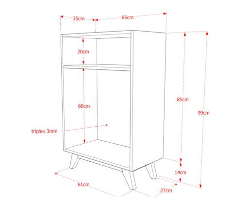 Furniture - Rak - Broma 1 Shelf