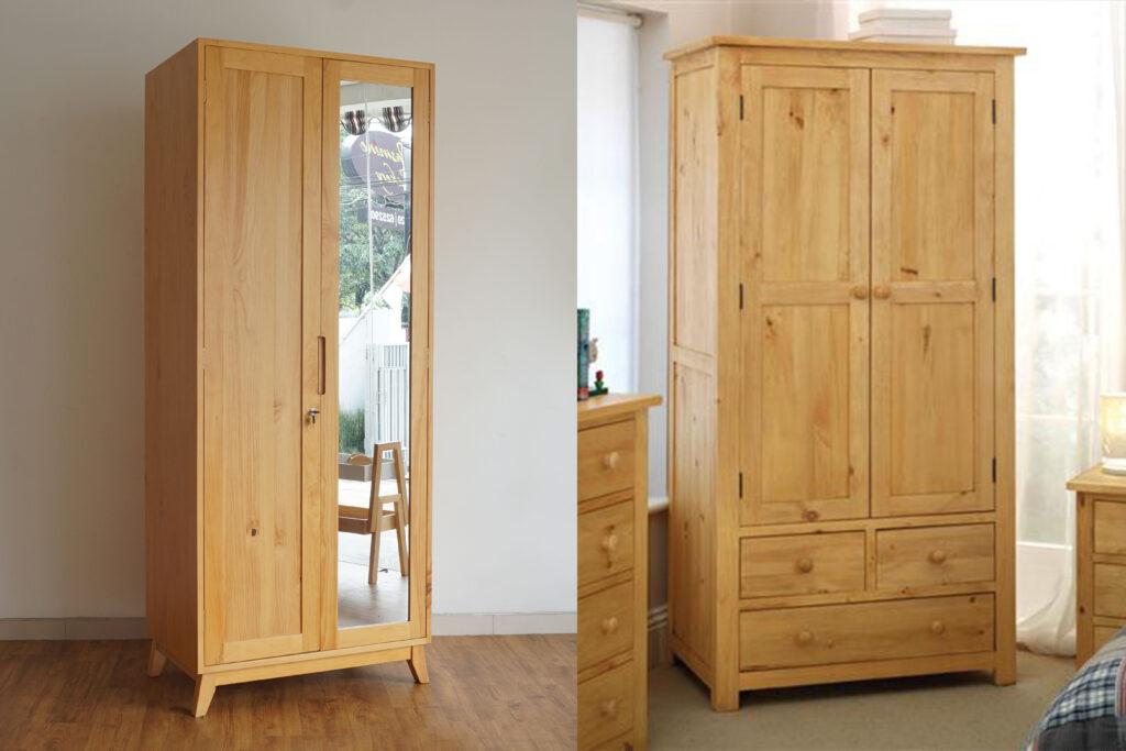 Perbedaan furnitur kayu pinus dan kayu palet (jati belanda)