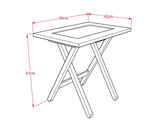 Harumi Folding Table