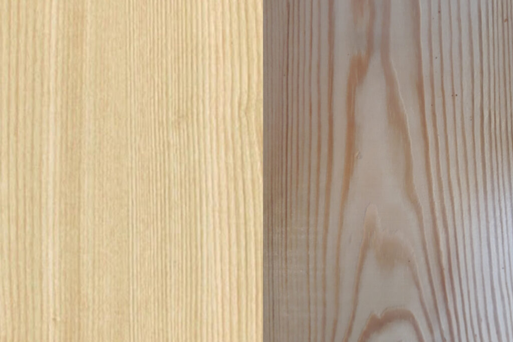 Tekstur Kayu Pinus VS Jati Belanda Furniture