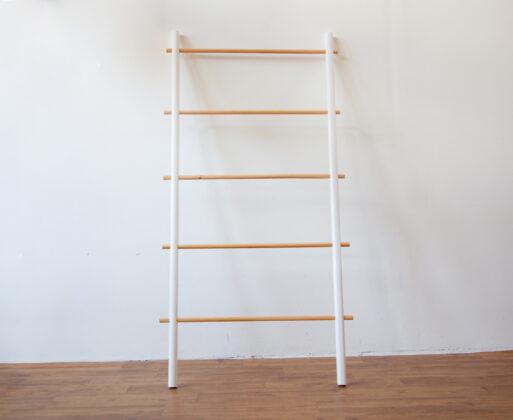 Ladder Hanger L Natural White
