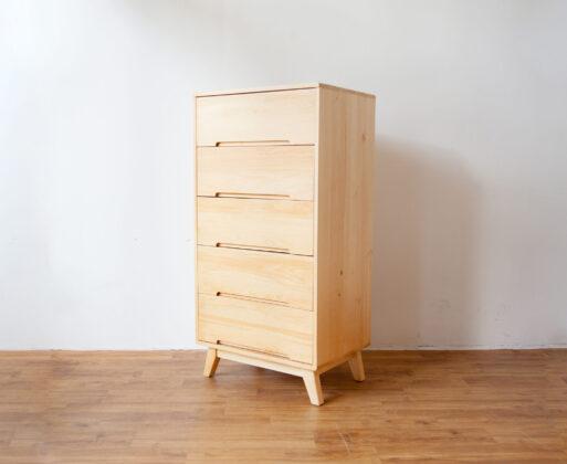 1. Furniture Lemari Alana 1x5 Cabinet