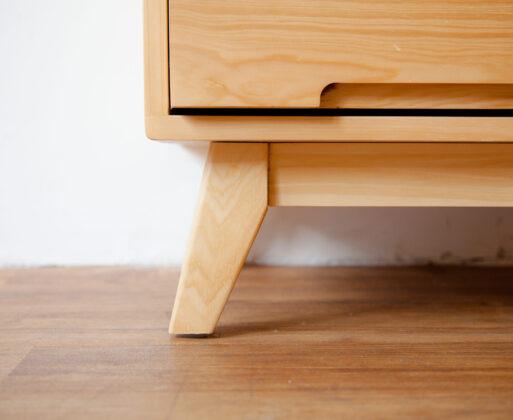 4. Furniture Lemari Alana 1x5 Cabinet