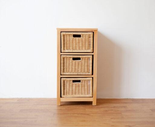 Furniture - Rak - Chest 3 Drawer Natural