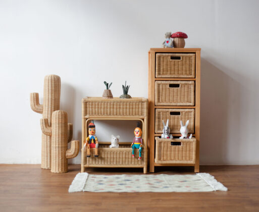 Furniture - Rak - Chest 4 Drawer Natural