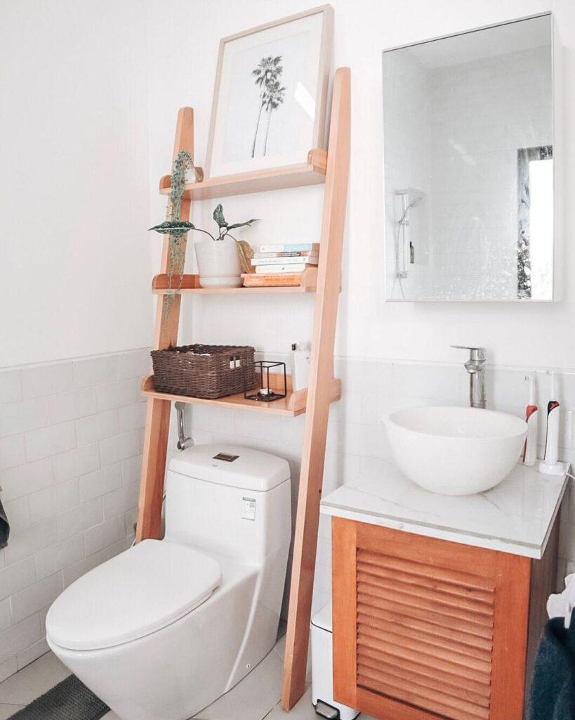 Rak Minimalis - Rekomendasi Perabotan untuk Powder Room