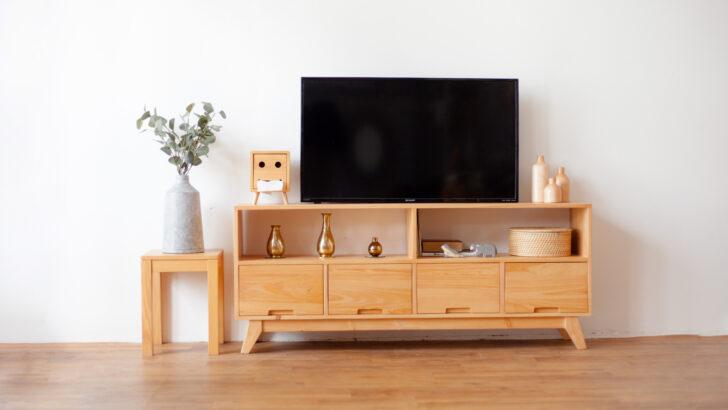 3 Inspirasi Meja TV Minimalis Untuk Ruang Keluarga
